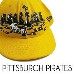 Pittsburgh Pirates Chessmen New Era 59fifty Hat